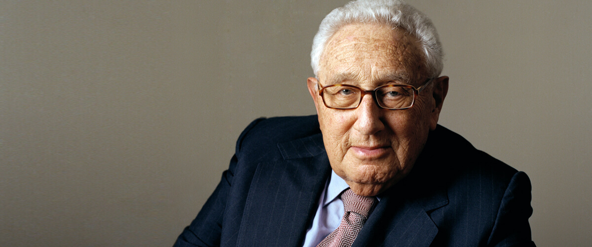 """Henry Kissinger is """"Wild About Harry"""""""