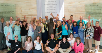 Teacher Workshops at the Truman Library