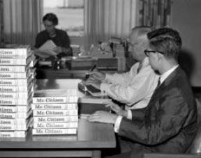Truman publishes Mr. Citizen.