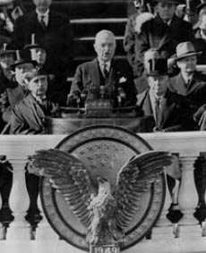 Harry S. Truman gets inaugurated for his second term as president.