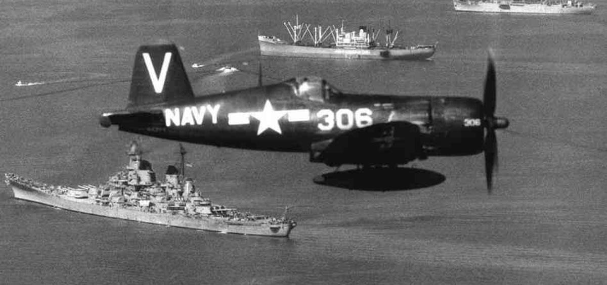 U.S. air and sea forces aid South Korea