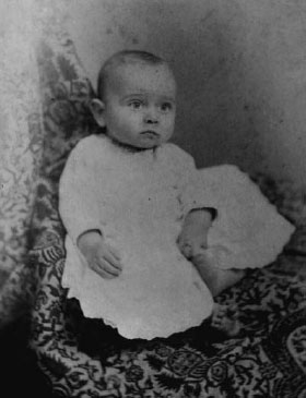 Harry S. Truman as a child