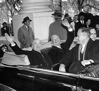 Truman and Eisenhower at 1953 Inauguration