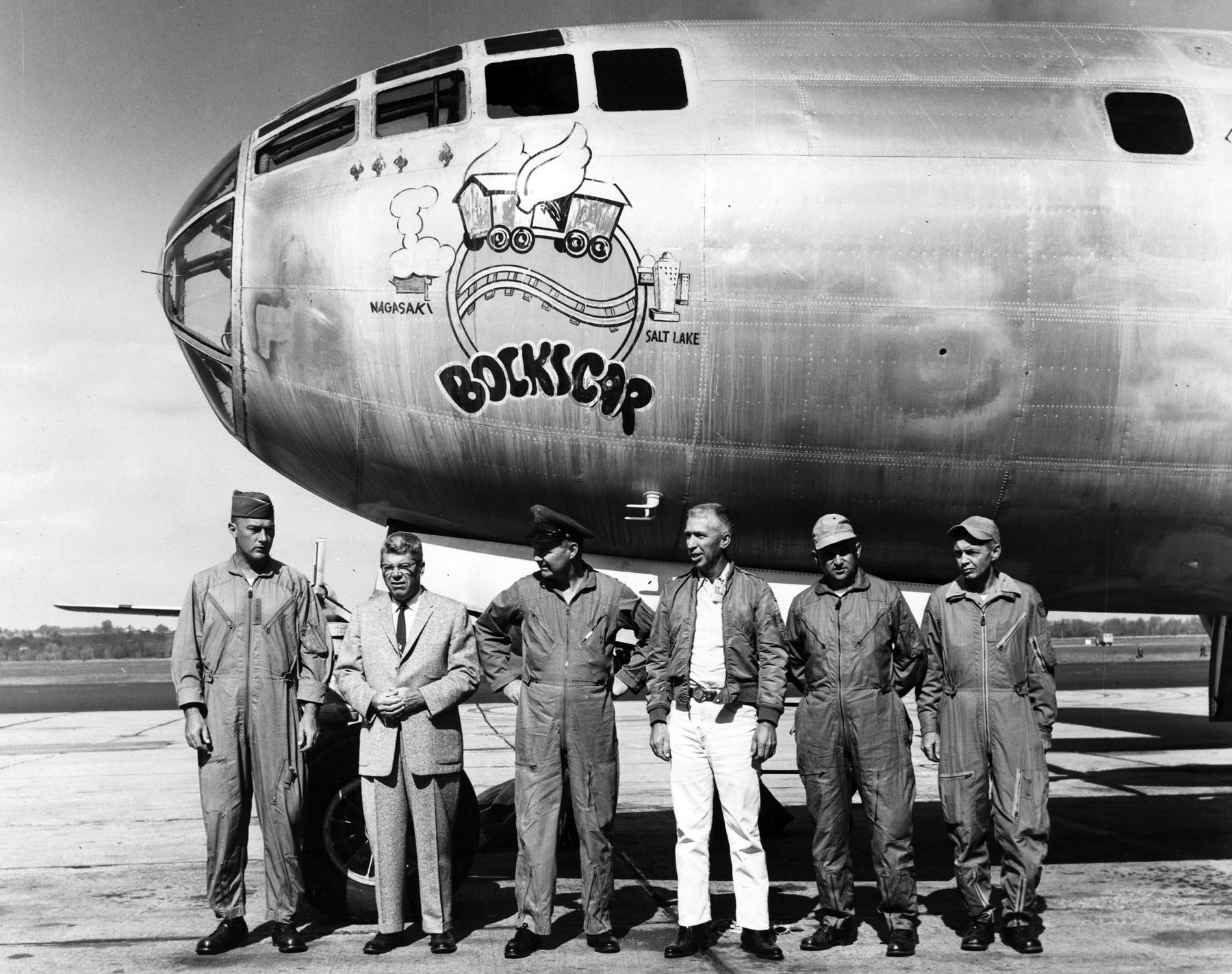 """Boeing B-29 """"Bockscar"""""""