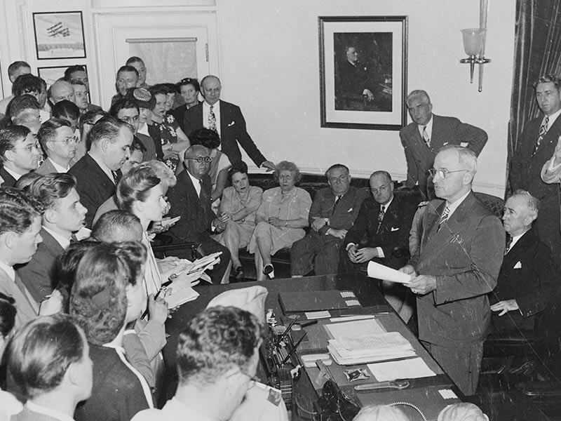 A Look at Truman's Influence on the Conclusion of World War II
