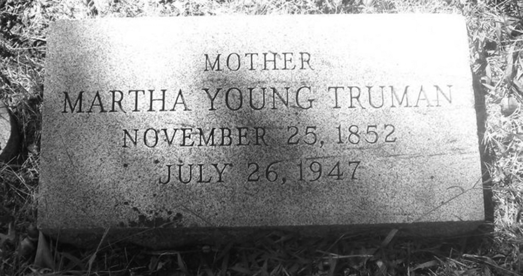 MarthaTruman Headstone
