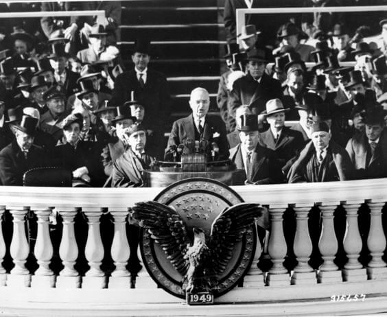 Historic Speeches: Truman's Inaugural Address