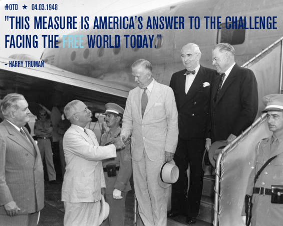 From the Desk of Harry S. Truman: Signing the Foreign Assistance Act