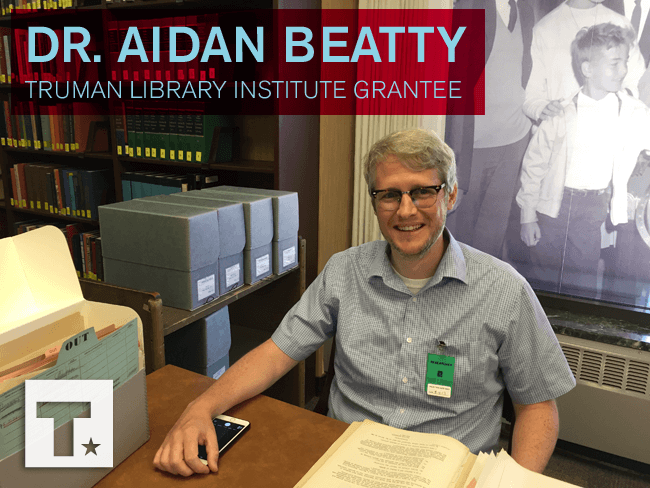 Meet Research Grant Recipient Dr. Aidan Beatty