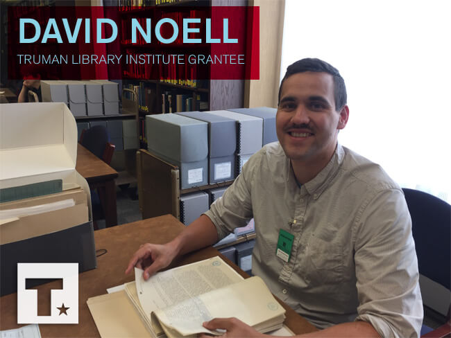 Meet Research Grant Recipient David Noell