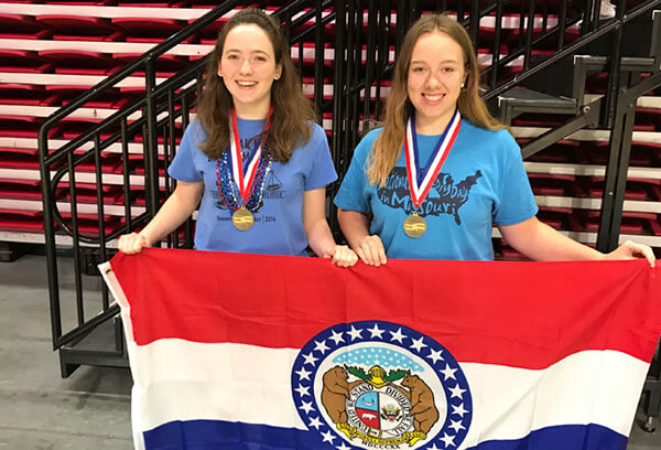 History Makers: Local Students Earn Gold Medals in National