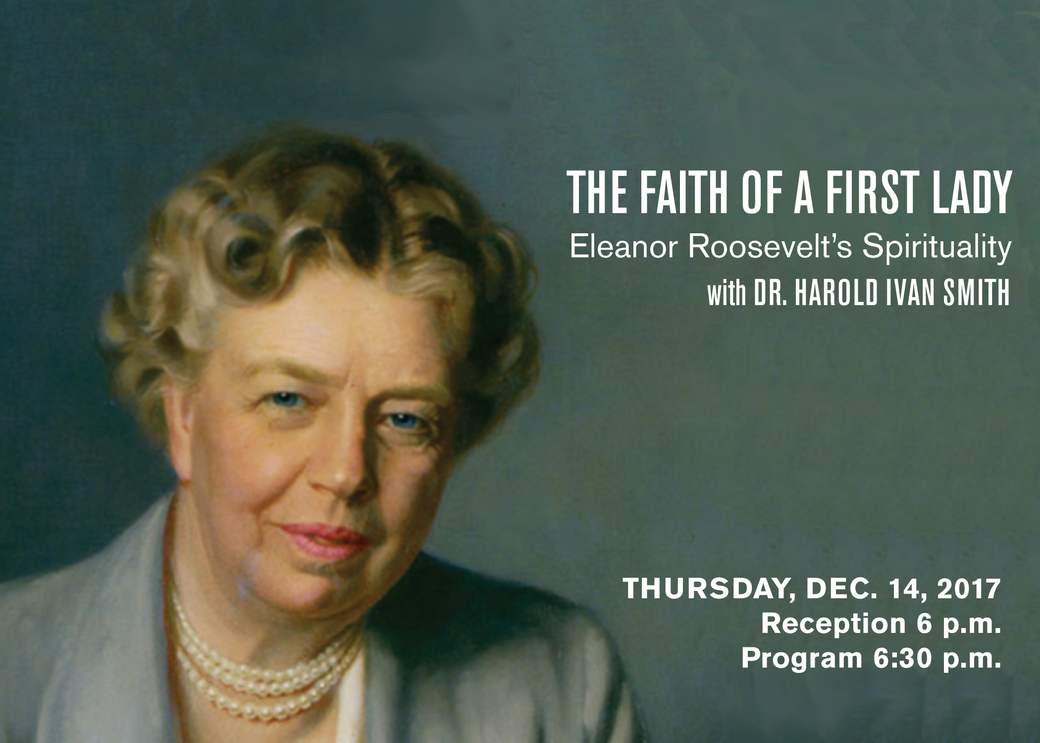 The Faith of a First Lady: Eleanor Roosevelt's Spirituality