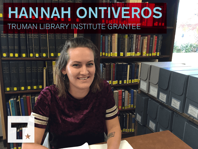 Meet Research Grant Recipient Hannah Ontiveros