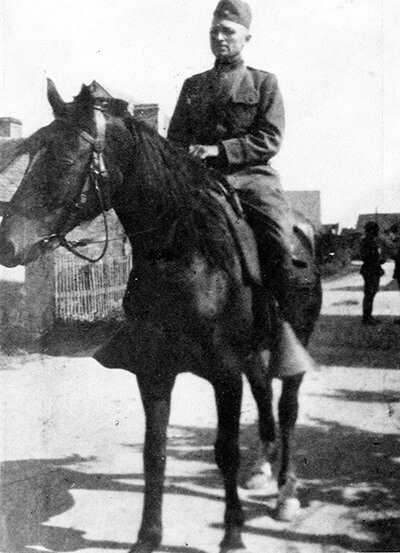 Truman's horse in military