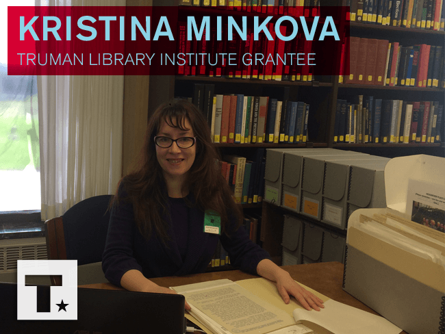 Meet Research Grant Recipient Kristina Minkova