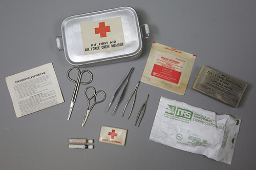 Korean War First Aid Supplies