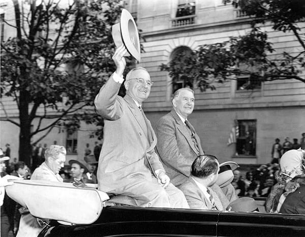 Harry Truman Campaigning
