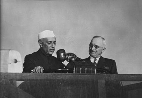Prime_Minister_Nehru_responds_Pres_Truman