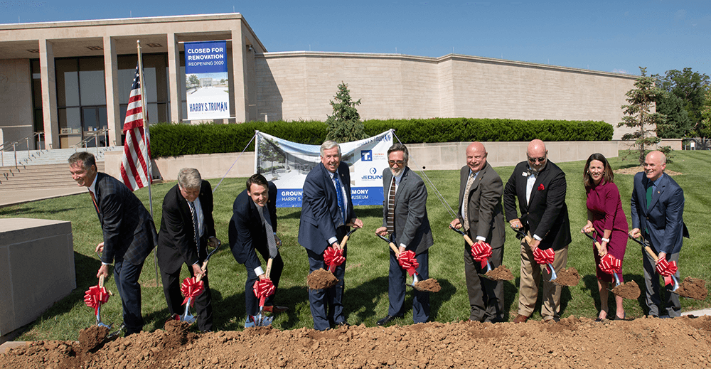 Truman Library Groundbreaking Ceremony