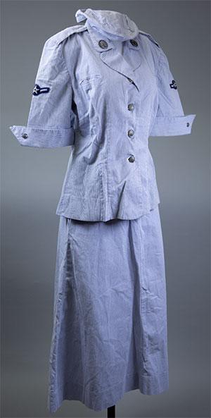 Ernie's WAF uniform.