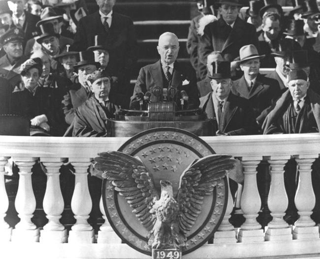 TRU History – Inauguration Day 1949